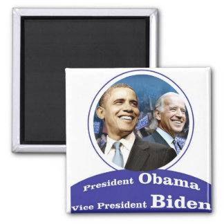 BARACK OBAMA Presidential Inauguration Gifts 2 Inch Square Magnet
