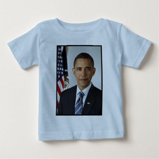 Barack Obama Presidential Portrait Baby T-Shirt