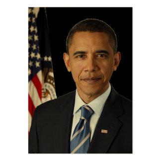 Barack Obama Presidential PORTRAIT US-Great Seal Large Business Cards (Pack Of 100)