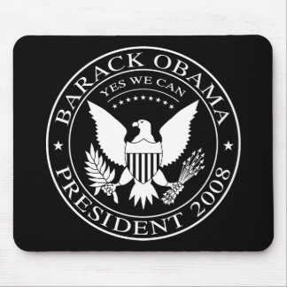 Barack Obama Presidential Seal 2008 Mousepad