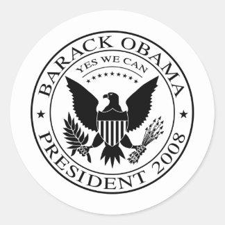 Barack Obama Presidential Seal 2008 Sticker