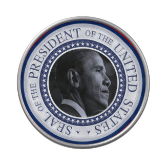Barack Obama Presidential Seal Candy Tin
