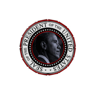 Barack Obama Presidential Seal Jelly Belly Candy Tins