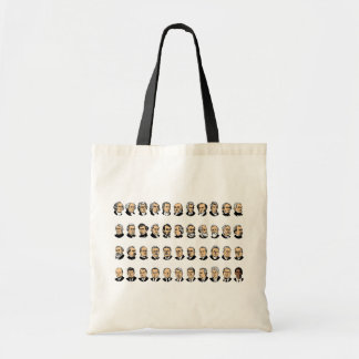 Barack Obama - Presidents Of The United States Budget Tote Bag