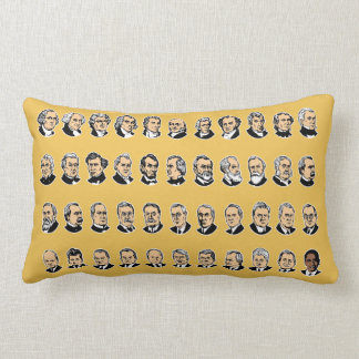 Barack Obama - Presidents Of The United States Lumbar Pillow