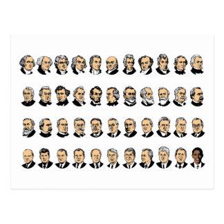 Barack Obama - Presidents Of The United States Post Cards