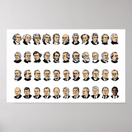 Barack Obama - Presidents Of The United States Poster