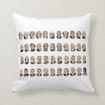 Barack Obama - Presidents Of The United States Throw Pillow