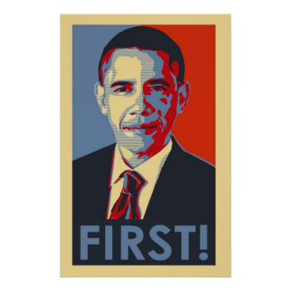 ¡Barack Obama PRIMERO! Poster
