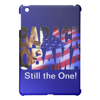 Barack Obama Profile Cutout - Apple Custom iPad Ca iPad Mini Covers