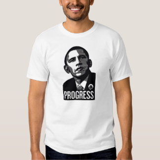 Barack Obama Progress Tshirt