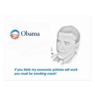 Barack Obama Protest Postcard