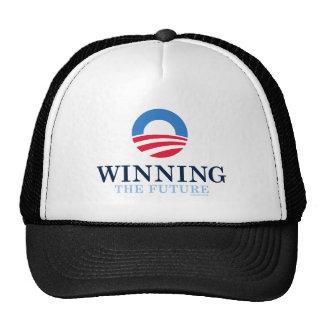 Barack Obama que gana 2012 Gorras
