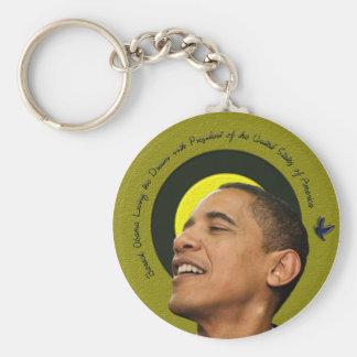 Barack Obama que vive el llavero ideal