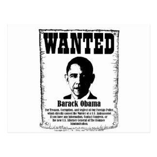Barack Obama quiso el poster Tarjeta Postal