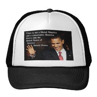 Barack Obama Quote Trucker Hat