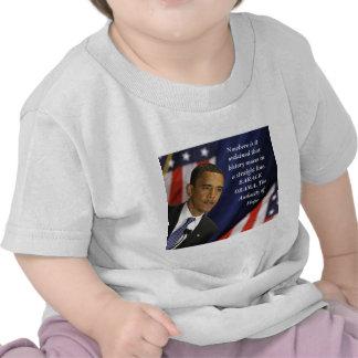 Barack Obama Quote on History Shirt