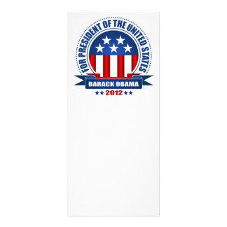 Barack Obama Rack Card Design