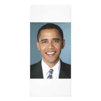 Barack Obama Customized Rack Card