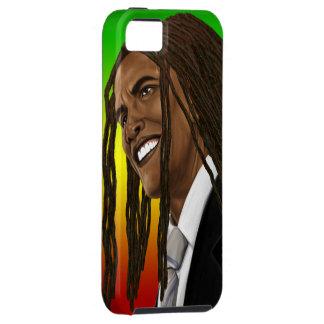 Barack Obama Rasta Reggae iPhone iPhone 5 Cases