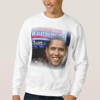 Barack Obama Re-election as Presidentt of the USA Sweatshirt