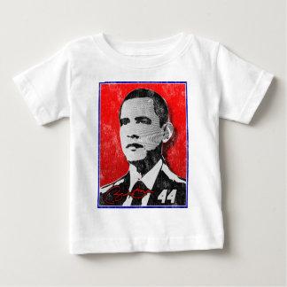 Barack Obama Red Portrait Baby T-Shirt