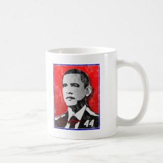 Barack Obama Red Portrait Coffee Mug