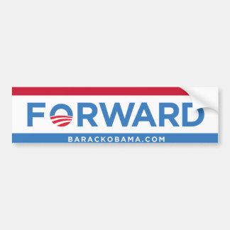 Barack Obama remite (rojo, blanco, y azul) el para Etiqueta De Parachoque