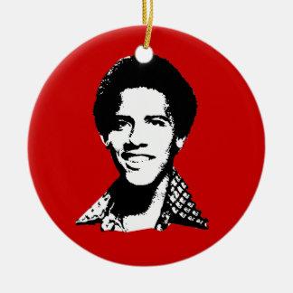 Barack Obama retro Christmas Ornament