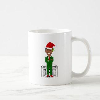 barack obama santa claus coffee mug