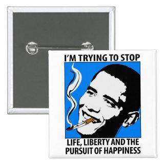 Barack Obama Satire / Parody Button