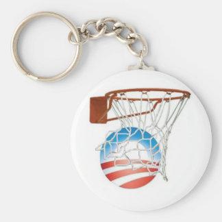 Barack Obama Scores in 2012! Keychain