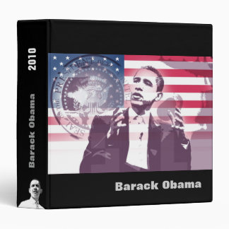 Barack Obama scrapbook - Binder