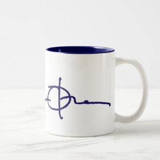 Barack Obama Signature Two-Tone Coffee Mug