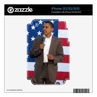 Barack Obama Skin For iPhone 3GS