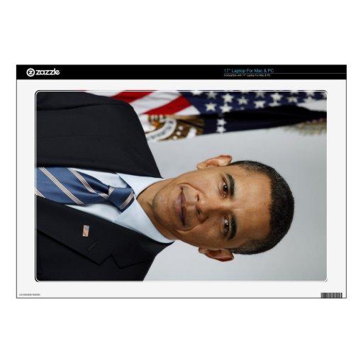 """Barack Obama Skin For 17"""" Laptop"""