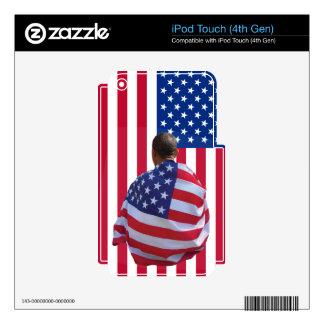 Barack Obama Skin For iPod Touch 4G