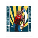 Barack Obama Slam Dunk Postcards