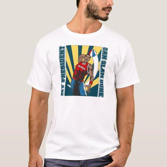 Barack Obama Slam Dunk T-Shirt