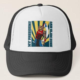 Barack Obama Slam Dunk Trucker Hat