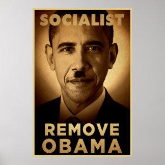 Barack Obama Socialist Posters