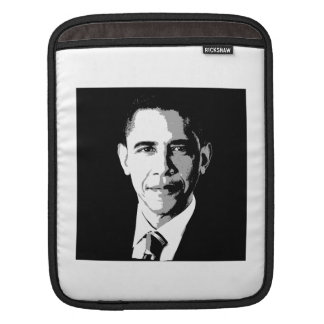BARACK OBAMA SQUARE FACE PORTRAIT -.png iPad Sleeves