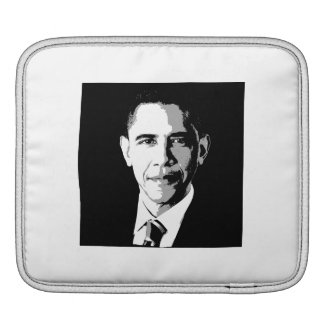 BARACK OBAMA SQUARE FACE PORTRAIT -.png Sleeves For iPads