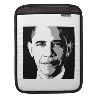 BARACK OBAMA SQUARE PORTRAIT -.png iPad Sleeves