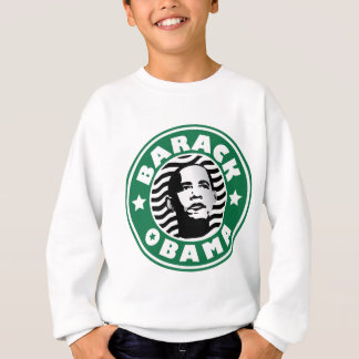 Barack Obama Star Caffeine Sweatshirt