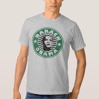 Barack Obama Star Caffeine T Shirt