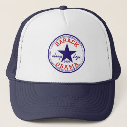 Barack Obama Star Trucker Trucker Hat