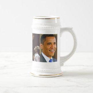 BARACK OBAMA stein Coffee Mugs