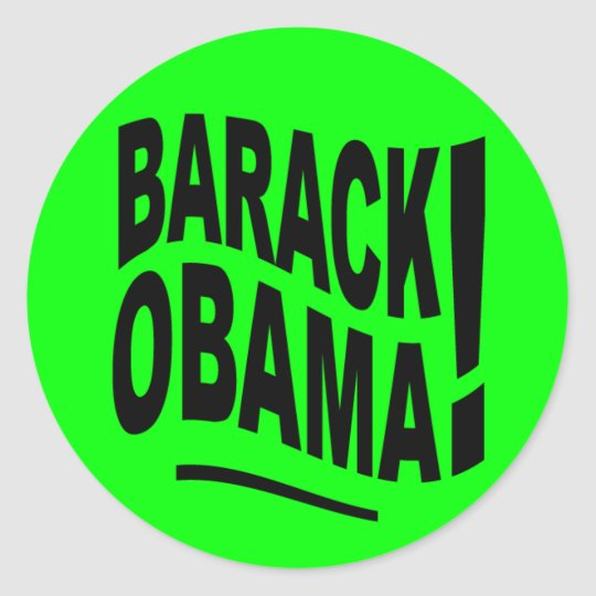 Barack Obama Sticker Sheet