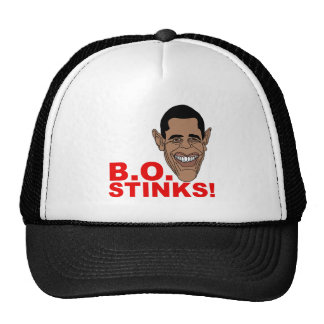 Barack Obama Stinks! Trucker Hat